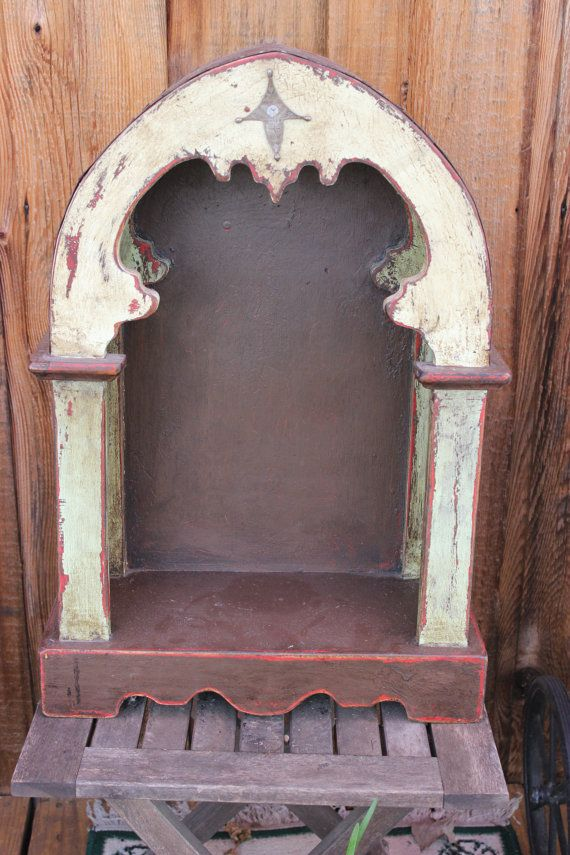 Vintage Handmade Mexican Nicho Altar Box By Ethniticities