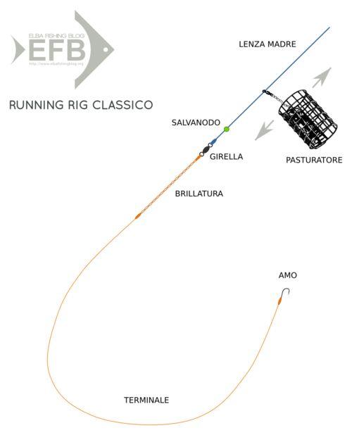feeder fishing: running rig classico (testo sul blog)