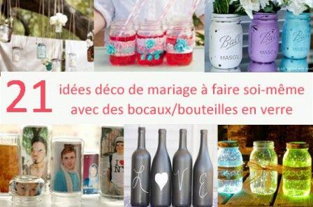 idées à propos de Centres De Table De Mariage À Faire Soi ...