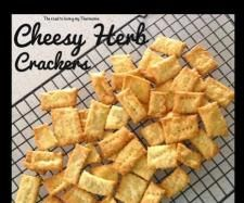 Recipe Cheesy Herb Crackers by theroadtolovingmythermomix - Recipe of category Baking - savoury