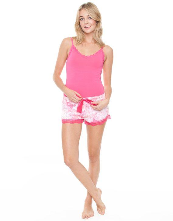 Pink Hope Shorts by Deshabille Sleepwear Online | THE ICONIC | AustraliaPink Hope Shorts by Deshabille Sleepwear Online | THE ICONIC | Australia