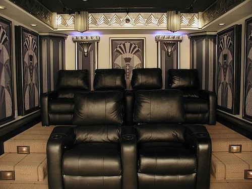 Ultra Modern Man Cave : Ultra modern home theater designs theatre design