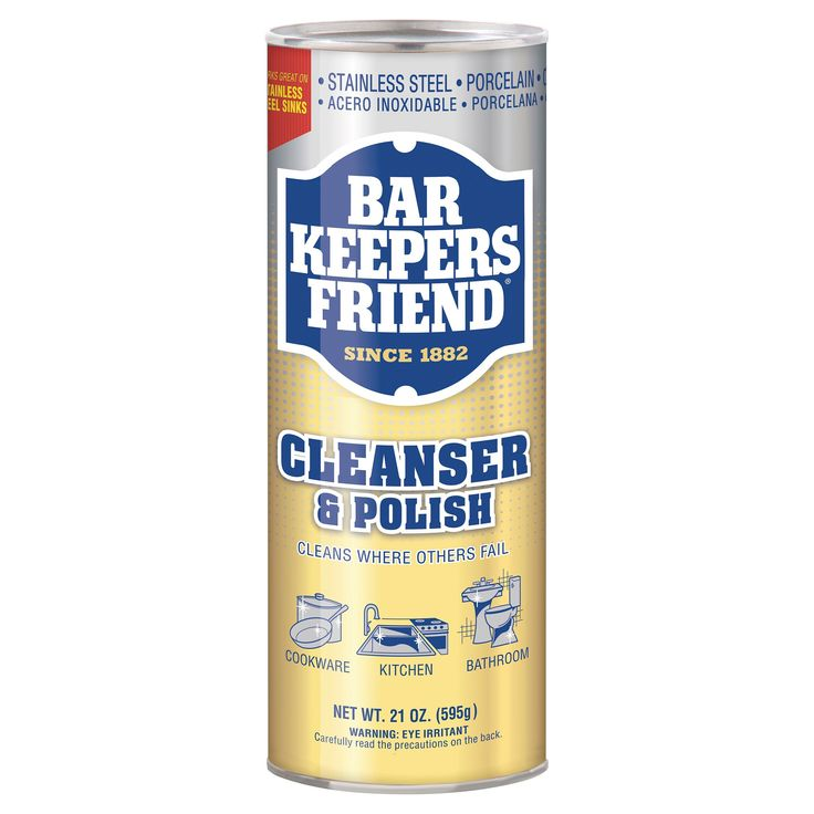 Bar Keepers Friend Multipurpose Household Cleanser & Polish 21 oz