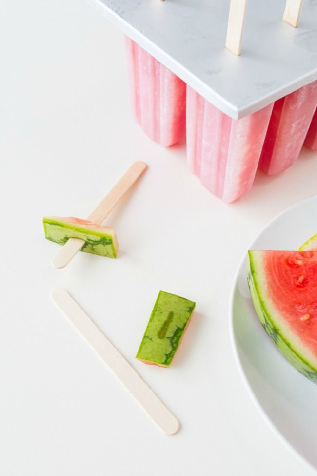 Spiked Watermelon Popsicles at LuLus.com!