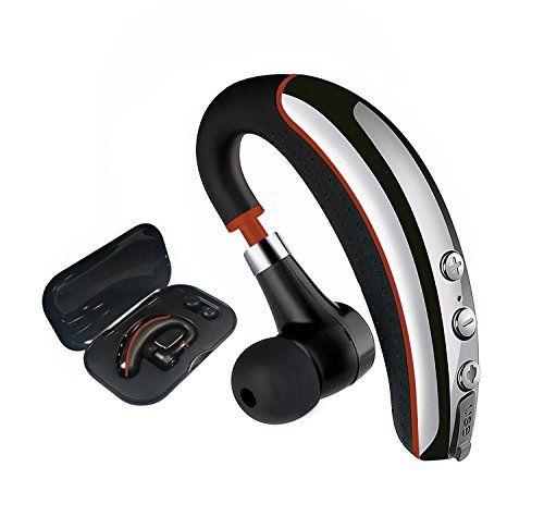 Bluetooth Headset Wireless V4 1 Business In Ear Earpiece With Mic Sweatproof Headset Handsfree For Driving Runnin Headset Bluetooth Headset Cell Phone Headset