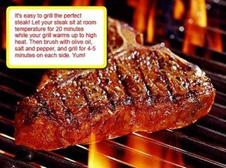 Steak - everyone's favorite! Get a discount on all our grills with code INSTAGRAM. #happyfriday #fbf #rexmanningday #parade #treatyourself #steak #meat #tbone #primerib #grill #grilling #bbq #barbecue #recipe #food #snacks #summeriscoming #lowes #weber #homedepot #homegoods