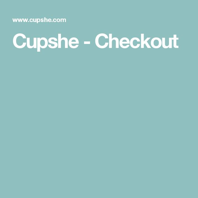 Cupshe - Checkout
