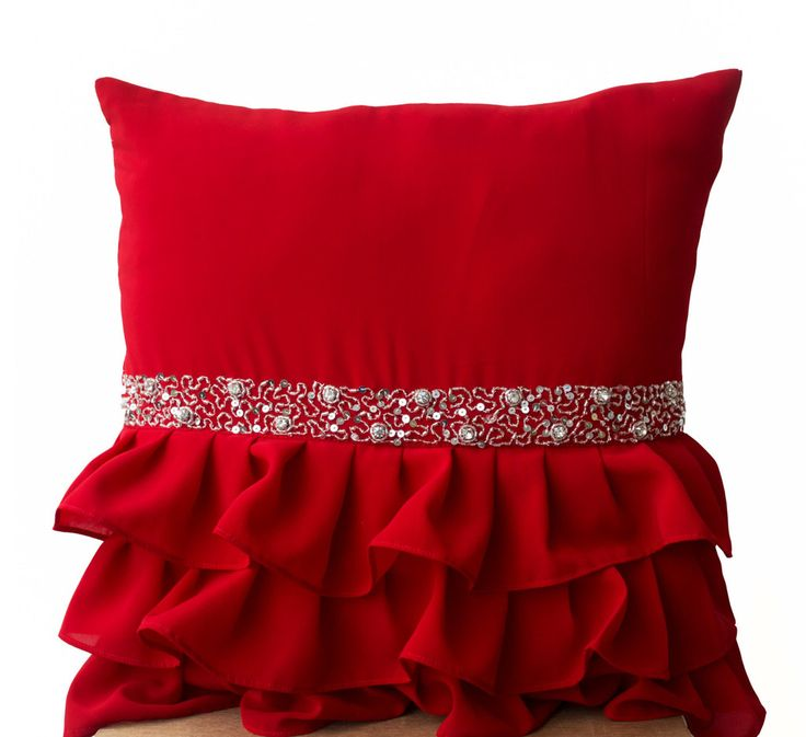 1000 Ideas About Red Cushion Covers On Pinterest Teal
