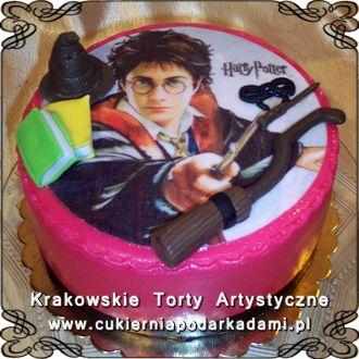 064. Tort dla miłośników Harrego Pottera. Cake for Harry Potter fans.