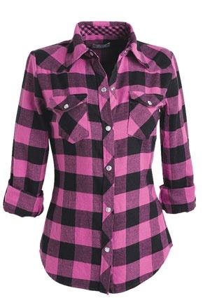 Best 25  Pink flannel shirt ideas on Pinterest | Fall shirts ...