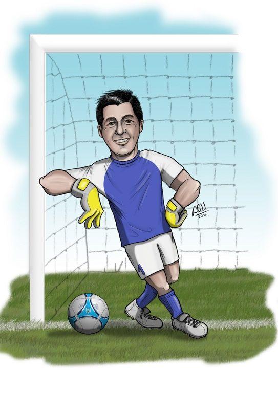 Ivan Arquero - Caricatura by Agucho76