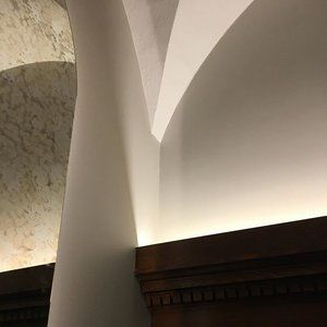 Lighting up the beautiful vaults at @ascot_hotel_copenhagen #legioproject #lightdesign