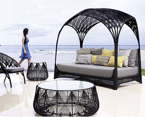 kenneth cobonpue indoor and outdoor furniture new hagia collection - Patio Furniture Design