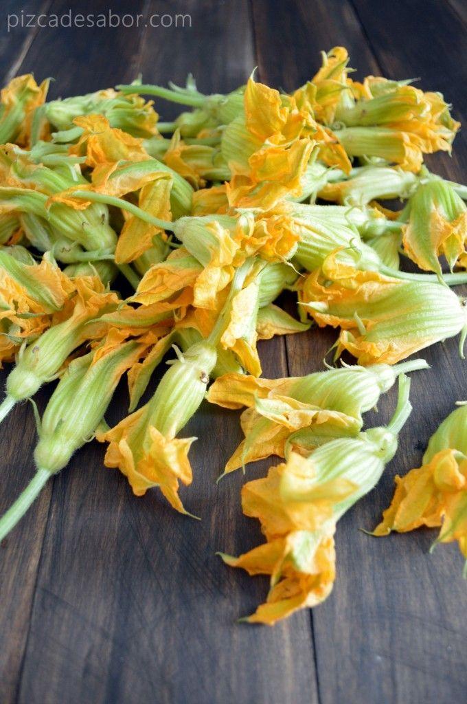 Crema de flor de calabaza www.pizcadesabor.com