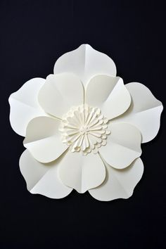 large paper flower for wedding decoration