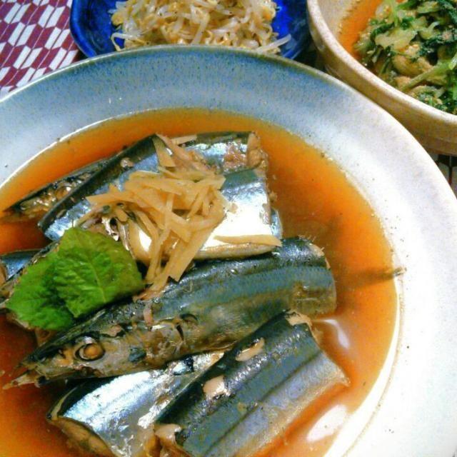 お魚の甘い煮付けはちょっと苦手… あんまり作らないけど、たまにはね~(・∀・) いや、なんでも食べるけどもw - 31件のもぐもぐ - 秋刀魚の煮付け by ゆっきー