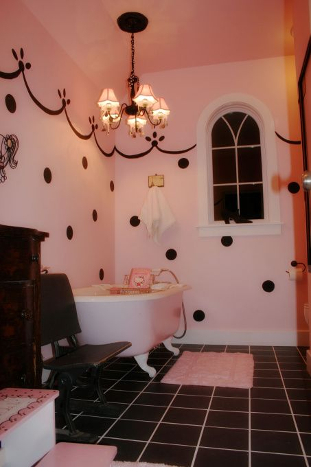 black red and white bathroom 1000 images about polka dots in bathroom on 22773