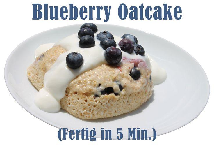 Haferflocken-Rezept: Blueberry Oatcake - fitkurs.de