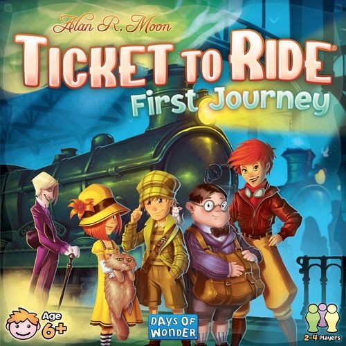 Toy Discounts Ticket To Ride First Journey Giveaway! Ends April 7, 2017.  UK only