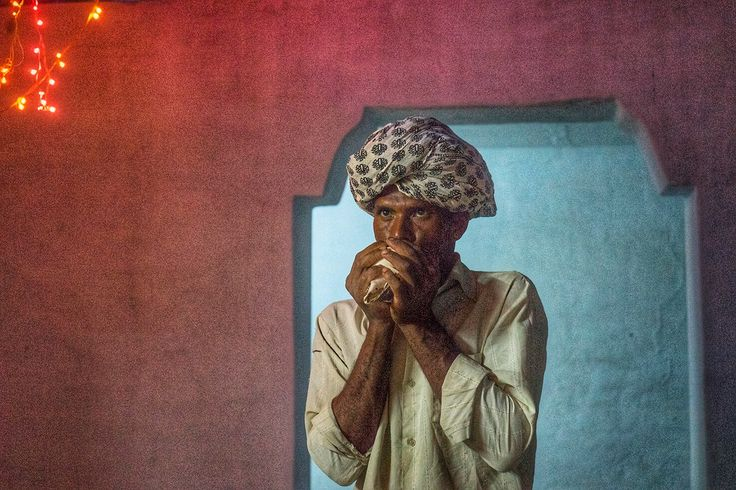 Village chief and priest, udaipur