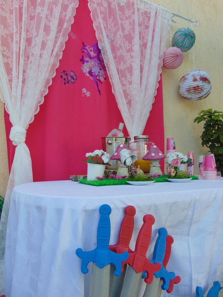 Decor fairy party