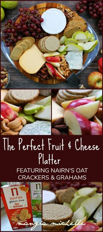 Follow these five simple steps to the perfect fruit and cheese platter. @nairnsusa
