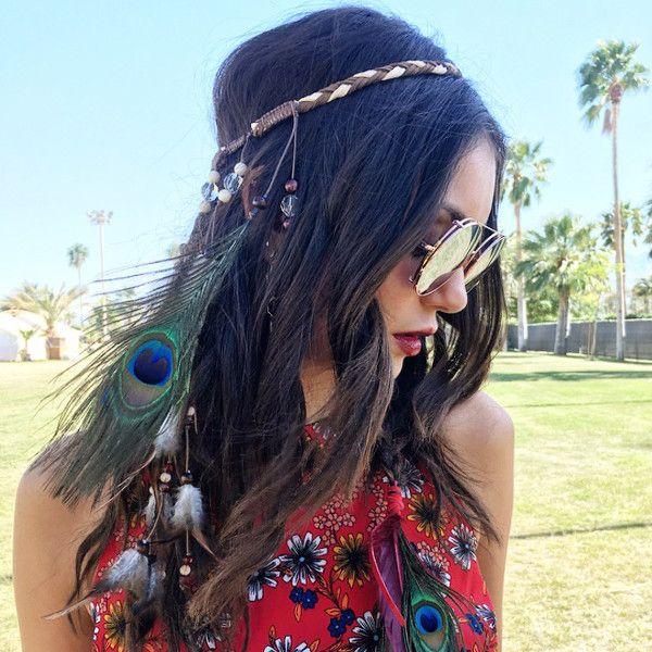 Vanessa Hudgens & Nina Dobrev Define Flawless Festival Hair | E! Online Mobile