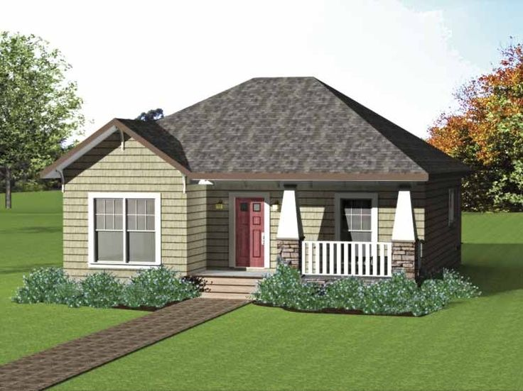 Eplans craftsman house plan low cost craftsman cottage for Low cost per square foot house plans