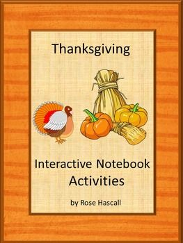 5806 best thanksgiving language arts ideas images on
