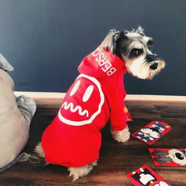 かっこいいberscea 犬の服 ドッグウェア パーカーペット洋服可愛い帽子付き カジュアル 春秋冬 送料無料 犬 犬の服 ペット