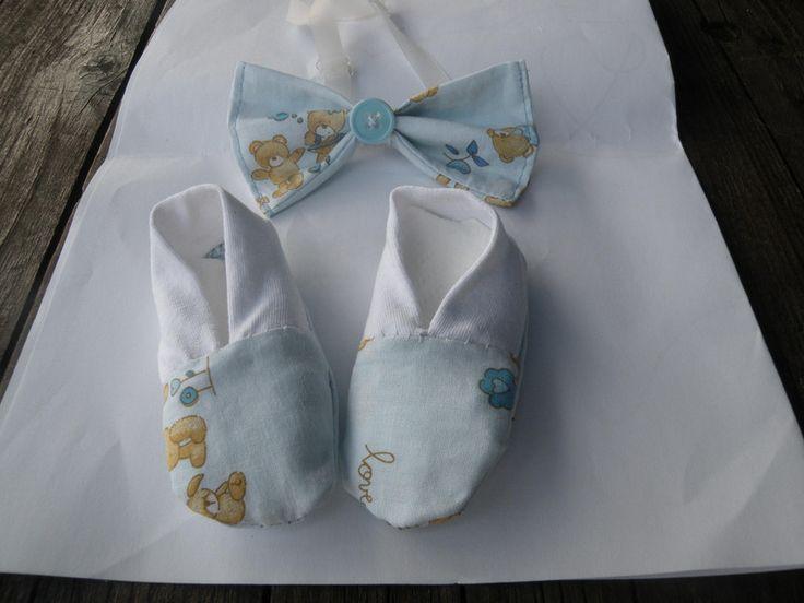 scarpine e papillon bebè di bandullera su DaWanda.com
