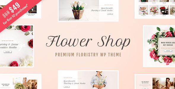 Flower Shop - Florist Boutique & Decoration Store WordPress Theme (WooCommerce)  https://themeforest.net/item/flower-shop-florist-boutique-decoration-store-wordpress-theme/20190854