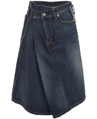 Junya Watanabe Comme Des Garçons Asymetric Skirt - - Farfetch.com