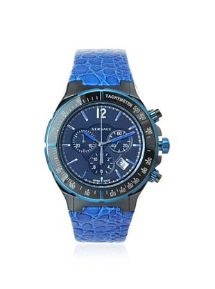 50% OFF Versace Men's 28CCB8D082 S282 DV Black/Blue Tachymeter Watch