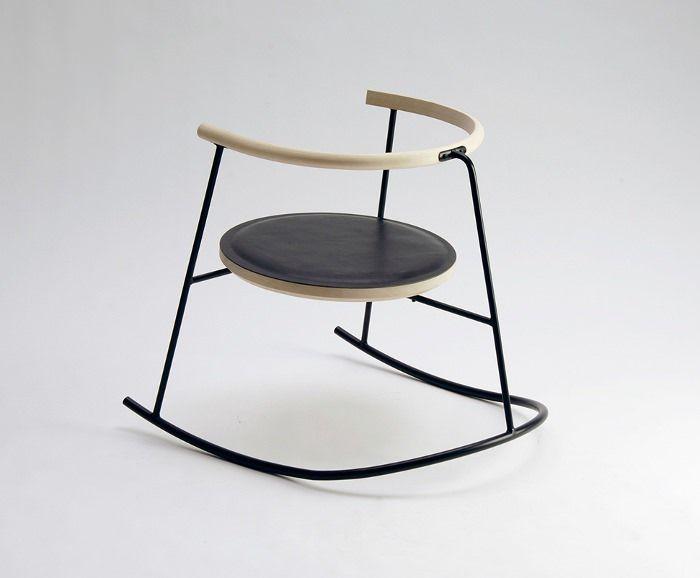danish design chair steel