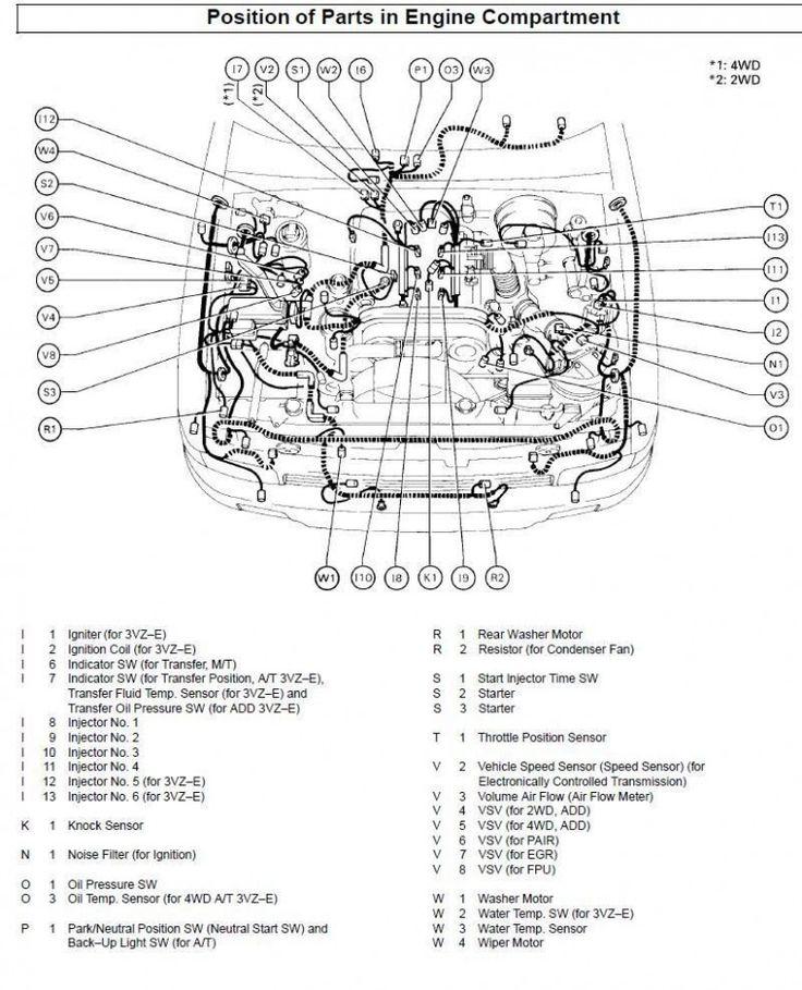 5 toyota 5runner v5 engine diagram 5 toyota 5runner v5