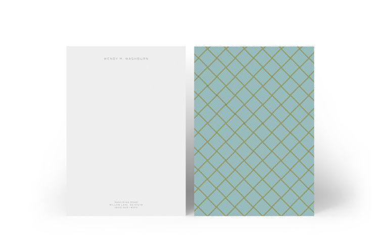 Design: Elle Woods Designer: Monika Koziol  Product: Letterheads