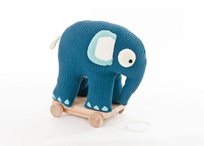 Sebra Elefant på hjul - Tinga Tango Designbutik
