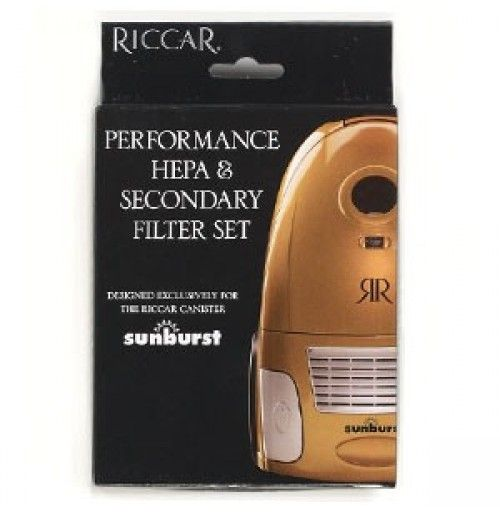 Riccar HEPA and Secondary Filters for Sunburst >>#Riccar #VacuumFilters