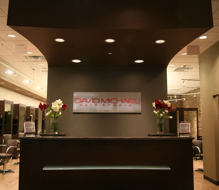 Front desk at my someday hair salon :*
