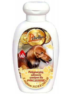 Pielęgnacyjny, odżywczy szampon dla psów i szczeniąt  • utrzymuje wilgotność • zawiera naturalne olejki • idealnie pielęgnuje i chroni • myje bez zastrzeżeń