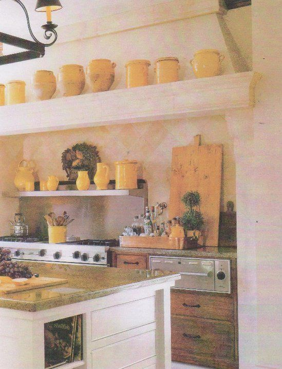 Random Smiles  Lovely Finds Kitchens Jane moore, French country - French Country Kitchens