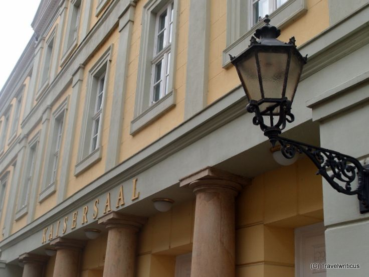 The place were Napoleon I and Tsar Alexander met in Erfurt, Germany
