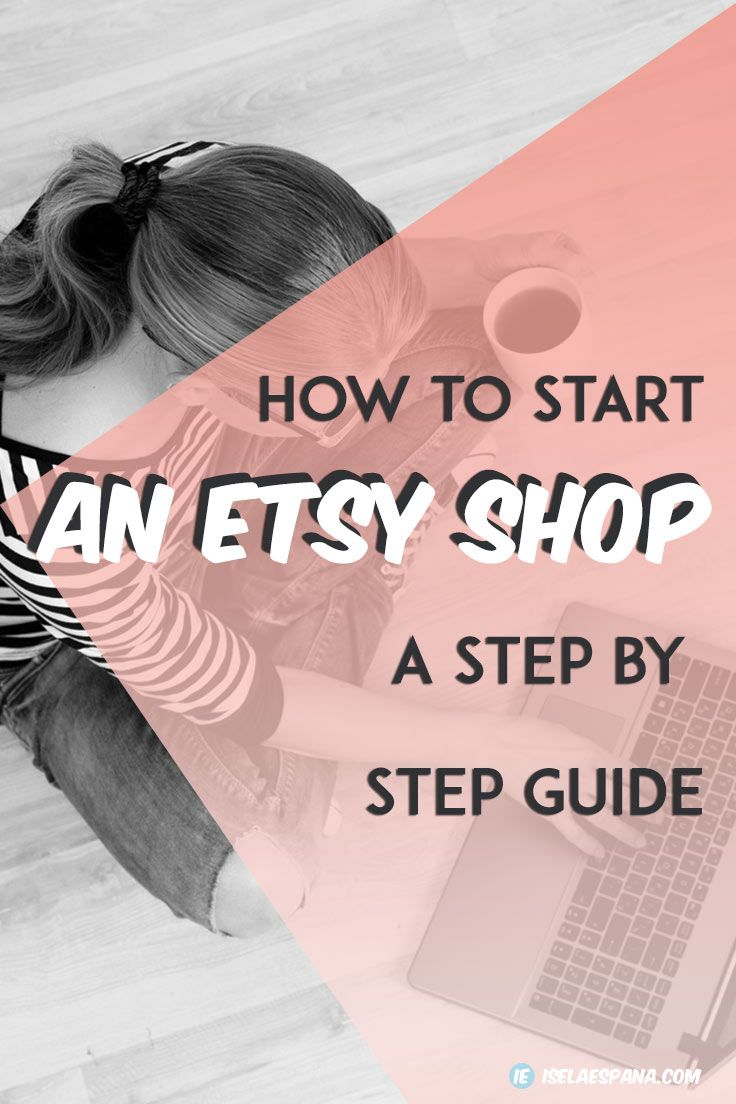 I'm going to share with you not only how to start an Etsy Shop but how to promote and get your products sold. I'm going to help you make your Etsy shop successful!