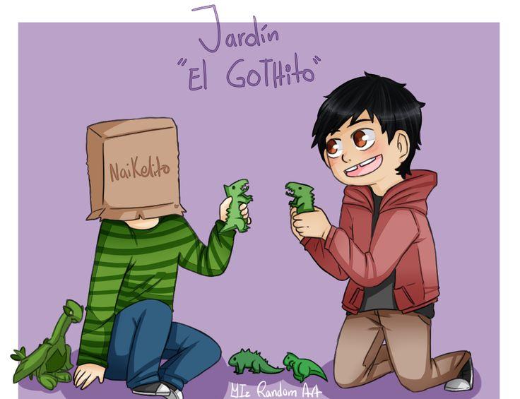 "Jardín ""El Gothito"" - Jaidefinichon | Iz"