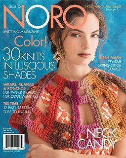 Ravelry: Noro Knitting Magazine, Spring/Summer 2017, Issue 10 - patterns