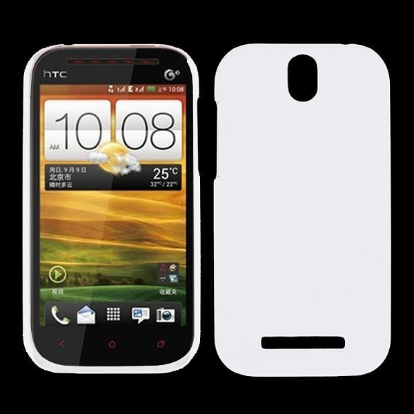 Hard Shell (Hvid) HTC One ST Cover