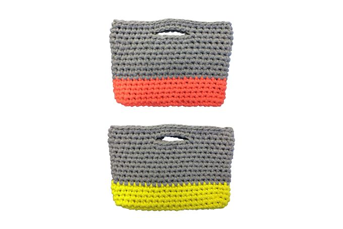 Cotton Clutch Bags by Judyskoo Creative