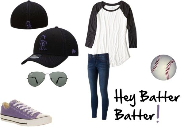 How to style a Baseball Game Outfit: Colorado Rockies!