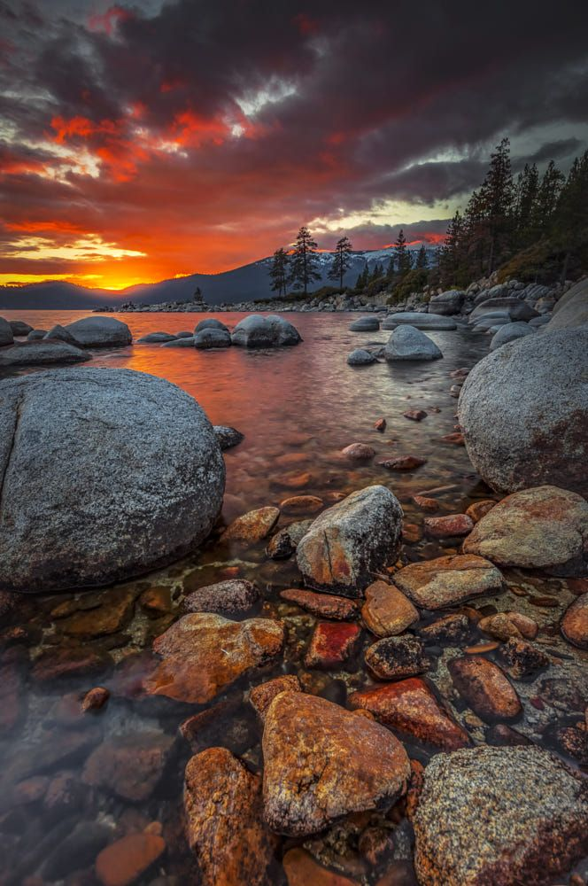 utopia sunset sunrise lake tahoe scenery nature rh pinterest com